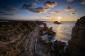 Plumb rocky coastline