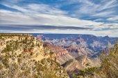 Ranní světlo svítání na Grand Canyon, Arizona Usa