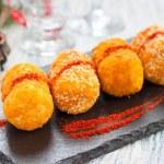 Potato croquettes crispy breaded...