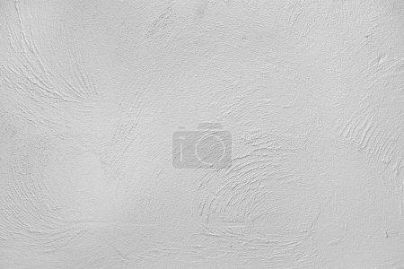 Photo pour Fond de mur plâtre ciment brut blanc - image libre de droit