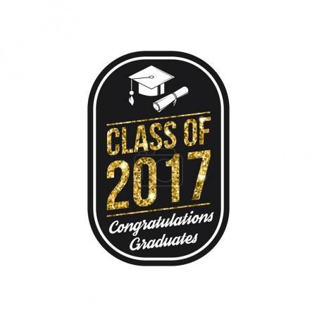 Vector Class of 2017 badge.