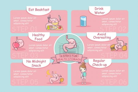6 steps for health