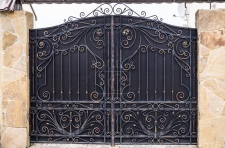 Iron gate outdoor