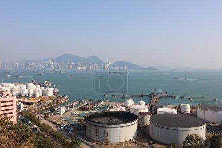 the Oil Depot at Nam Wan hk