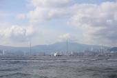 View of Belcher Bay, hong kong at 2017