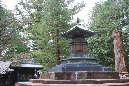The Tomb of Tokugawa Ieyasu in Tosho gu