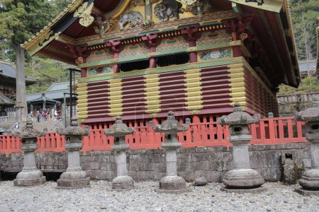 Shrine at Rinnoji Temple Nikko Japan