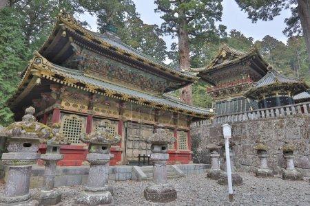 Toshogu Shrine at sunrise, Nikko, Japan.