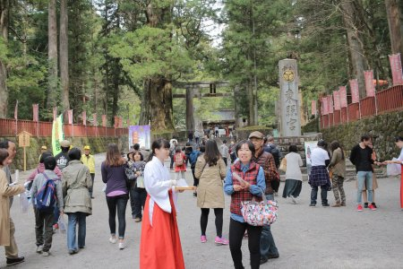 visit Yomeimon Gate at the Nikko Toshogu shrine