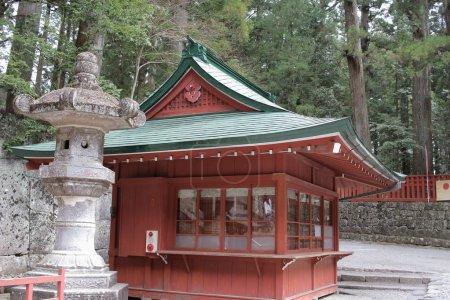 Shrine at Rinnoji Temple Nikko Japan
