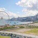 The progress of The Hong Kong Ovservation Wheel...