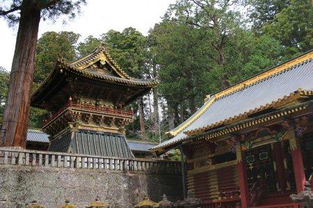 final resting place of Tokugawa Ieyasu,