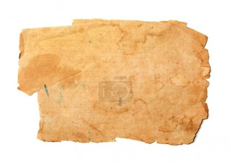Old ripped paper