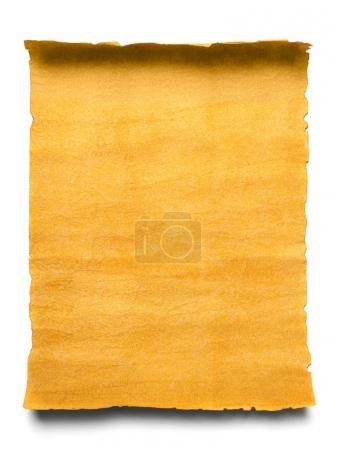 Old blank manuscript