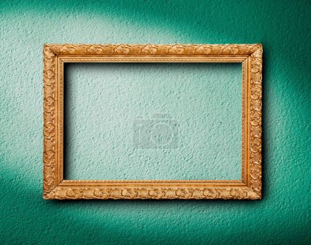 Photo for Picture frame on wall - Royalty Free Image