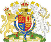 Vector graphic design representing the Royal Coat Of Arms of the United Kingdom