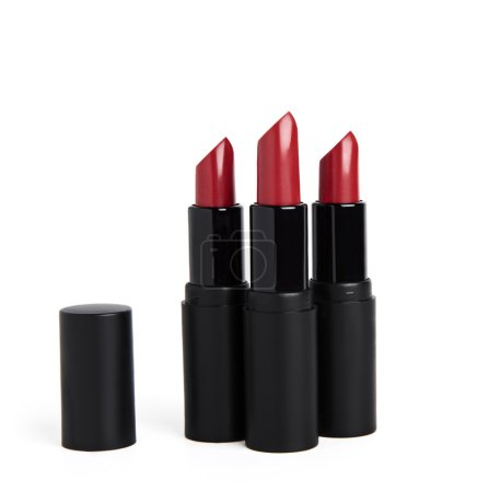 red lipstick packages