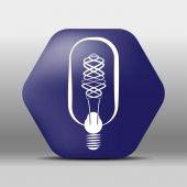 Lamp Icon button logo symbol concept high quality