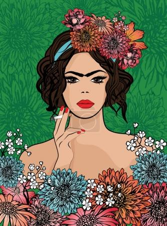 Pop Art Frida Kahlo styl