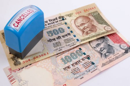 India rupee 500 and 1000