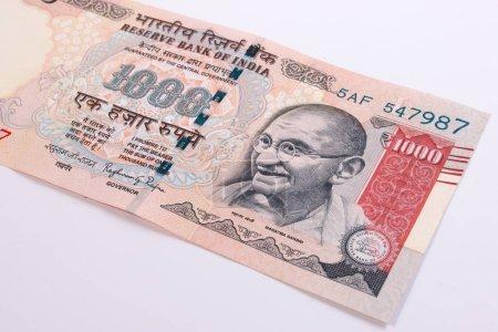 Крупным планом Индия рупия 1000