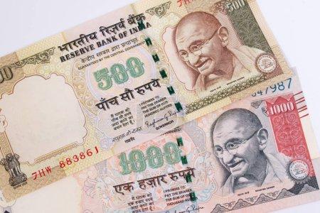 Рупия Индии 500 и 1000