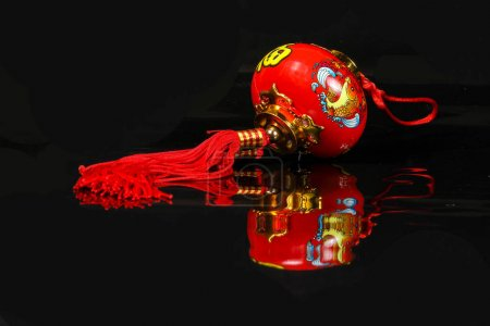 Chinese CNY decoration charm wishes feng shui...