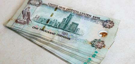 UAE one thousand Dirhams banknotes