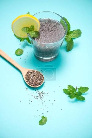 chia seeds drink