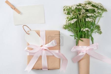 Flowers composition for Mother's day. Love background