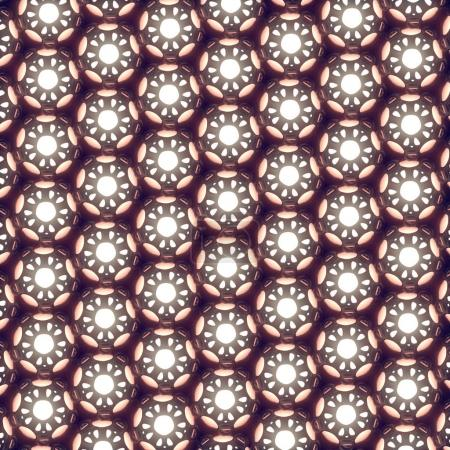Abstract modern futuristic pattern 3d rendering