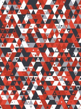 moderner Hintergrund mit coolen dreieckigen Formen Muster 3D-Rendering