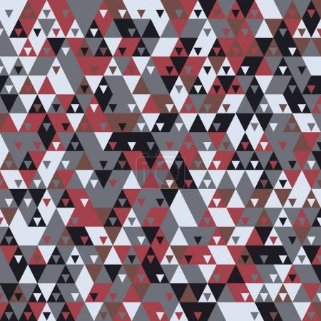 Modern background with cool triangular shapes pattern 3d rendering