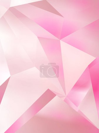 Abstract colored geometric background. 3d rendering