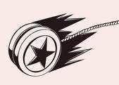 yo yo logo concept