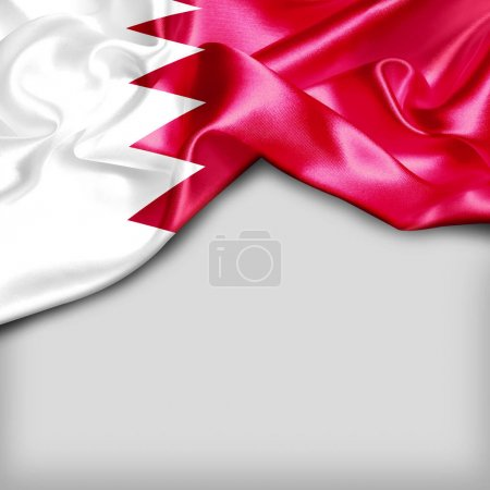 national flag of Bahrain
