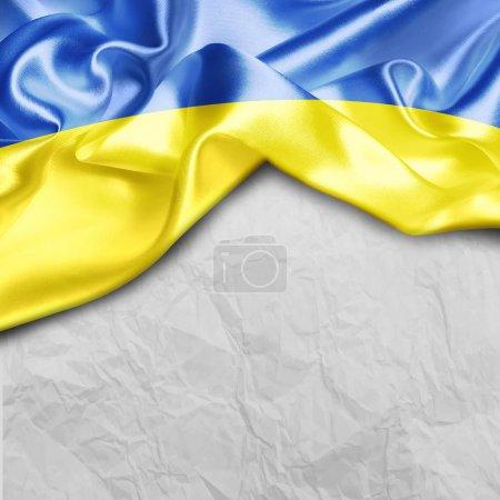 Photo pour Ukraine affiche thème pays - image libre de droit