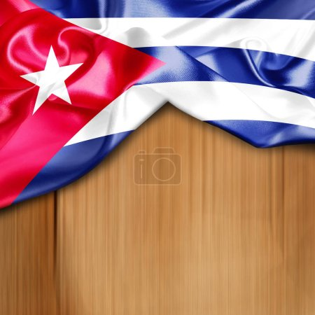 waving flag of Cuba