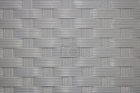 Photo pour Abstrait gris sans couture, modèle de tissage - image libre de droit