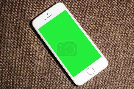 Mobile phone with Green Screen
