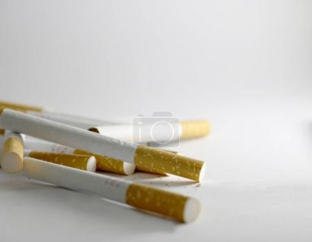 cigarettes with brown filters