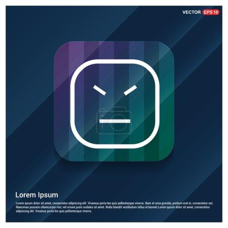 Face emoticon icon