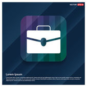 Business briefcase icon vector illustration