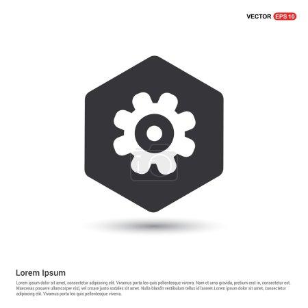 Gear web icon