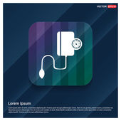 Ikona kontrola krevního tlaku