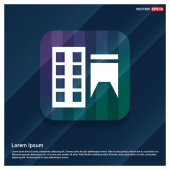 Factory building icon vector illustration