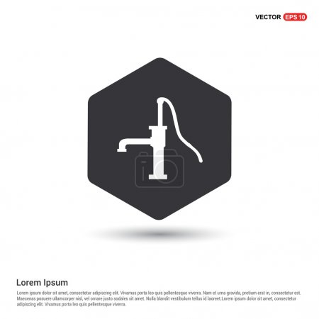 old water pump icon