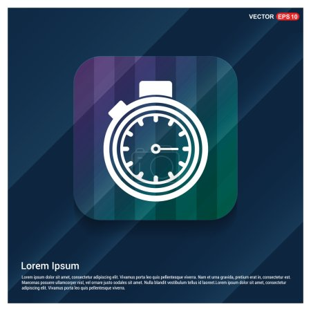 timer, stopwatch icon