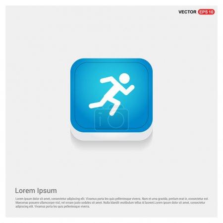 running athlete icon