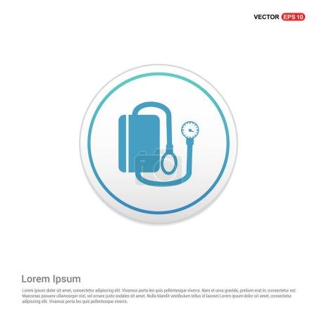 Medical tonometer icon